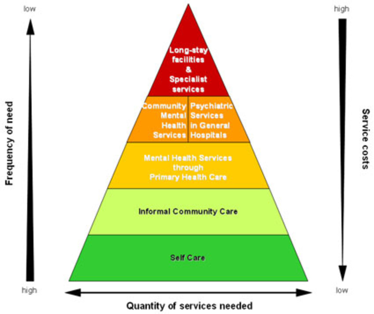 Typical Spectrum of Mental Health Care and Costs