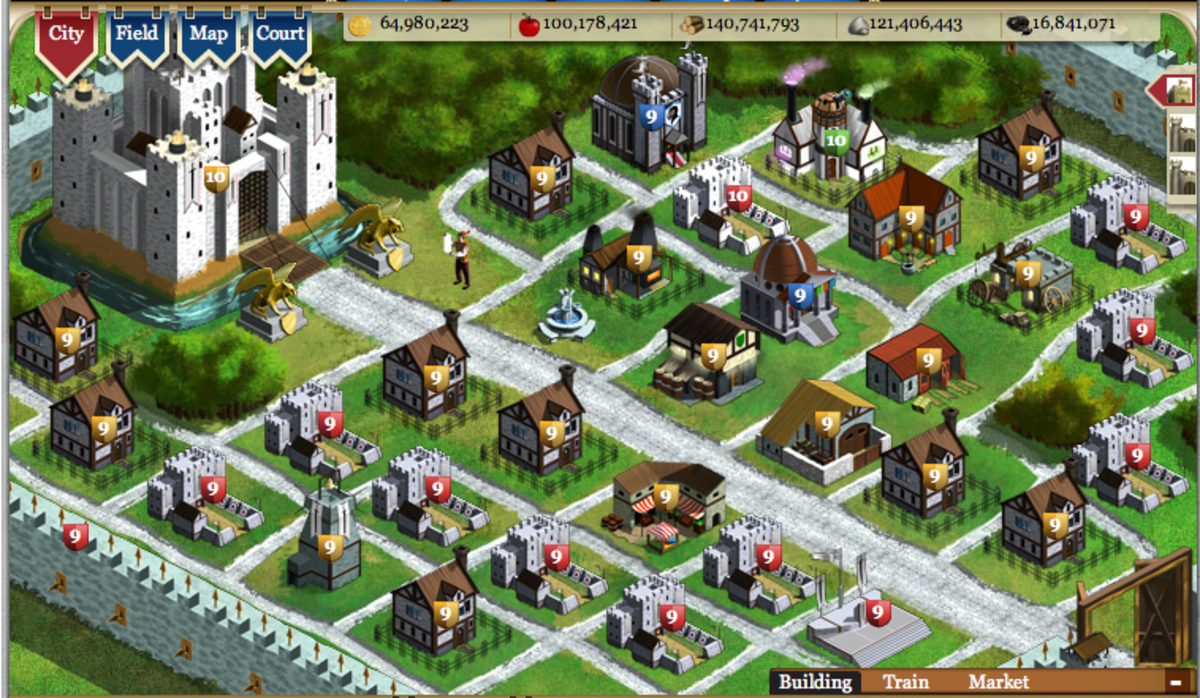 Kingdoms of Camelot Tutorial | hubpages