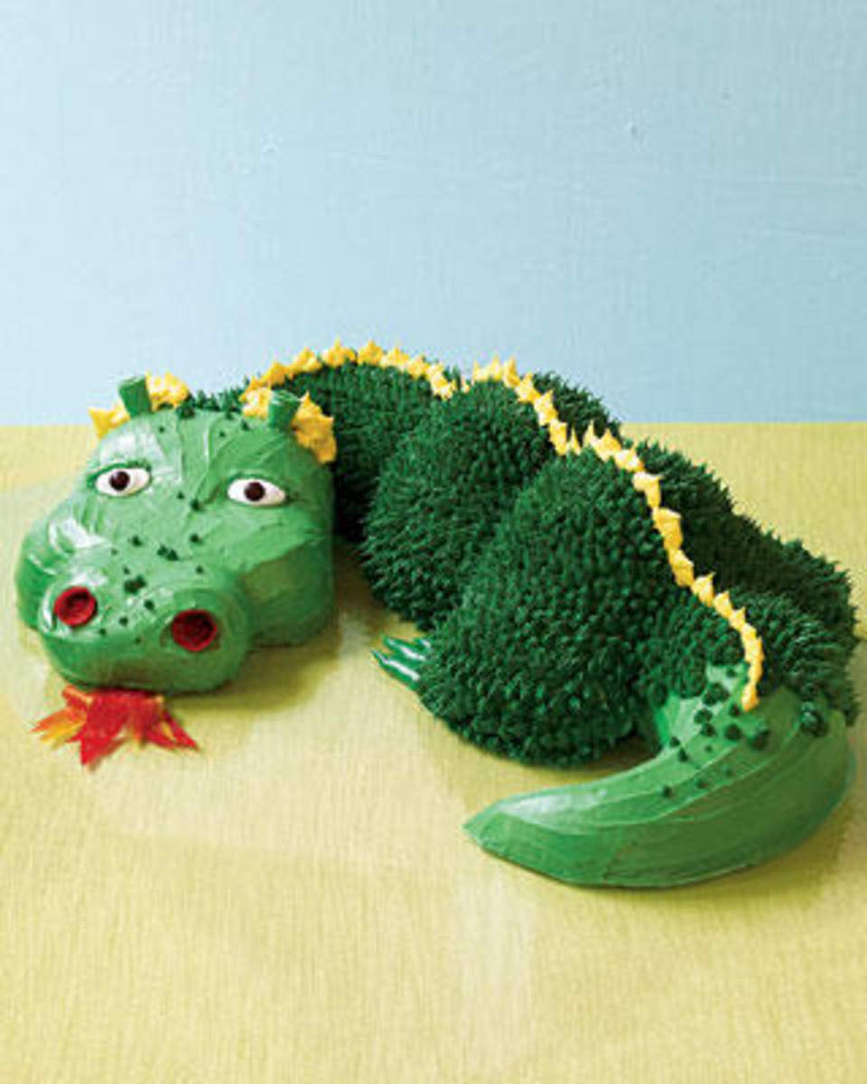 How to Make Dragon Birthday Cakes HubPages