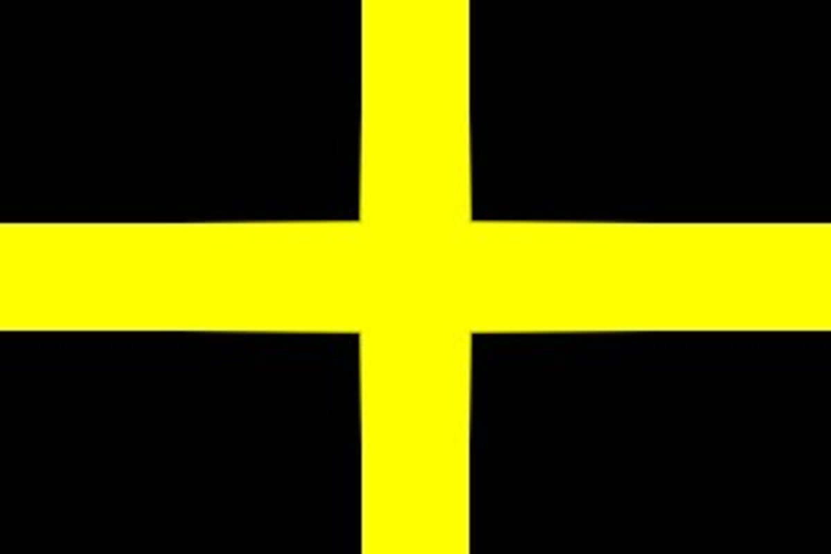 St Davids Cross or St Davids Flag