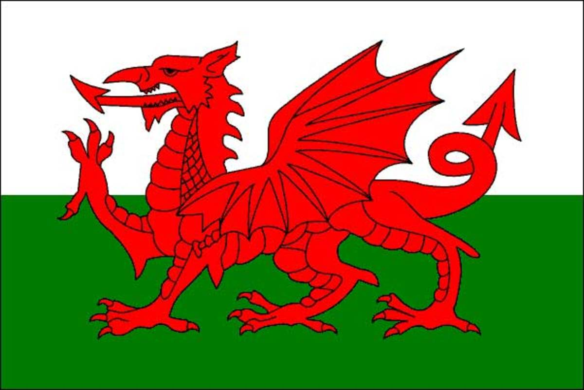 Wales Flag -- The Red Dragon