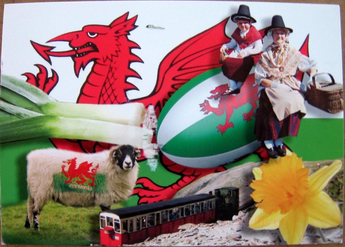 All symbols of Wales
