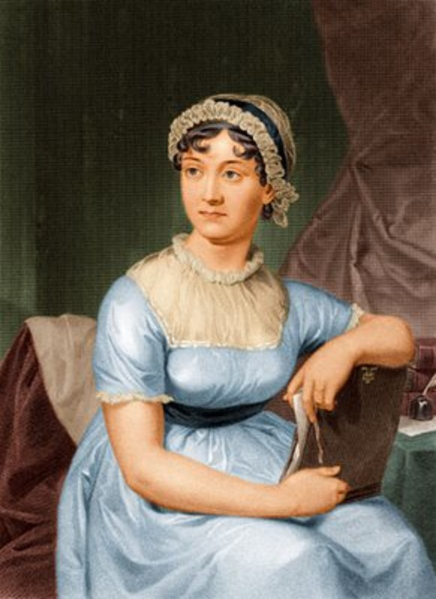 Portrait painted when Jane was a young adult.