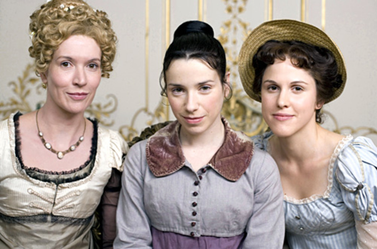 From left to right, the Elliot sisters: Elizabeth, Anne, and Mary.