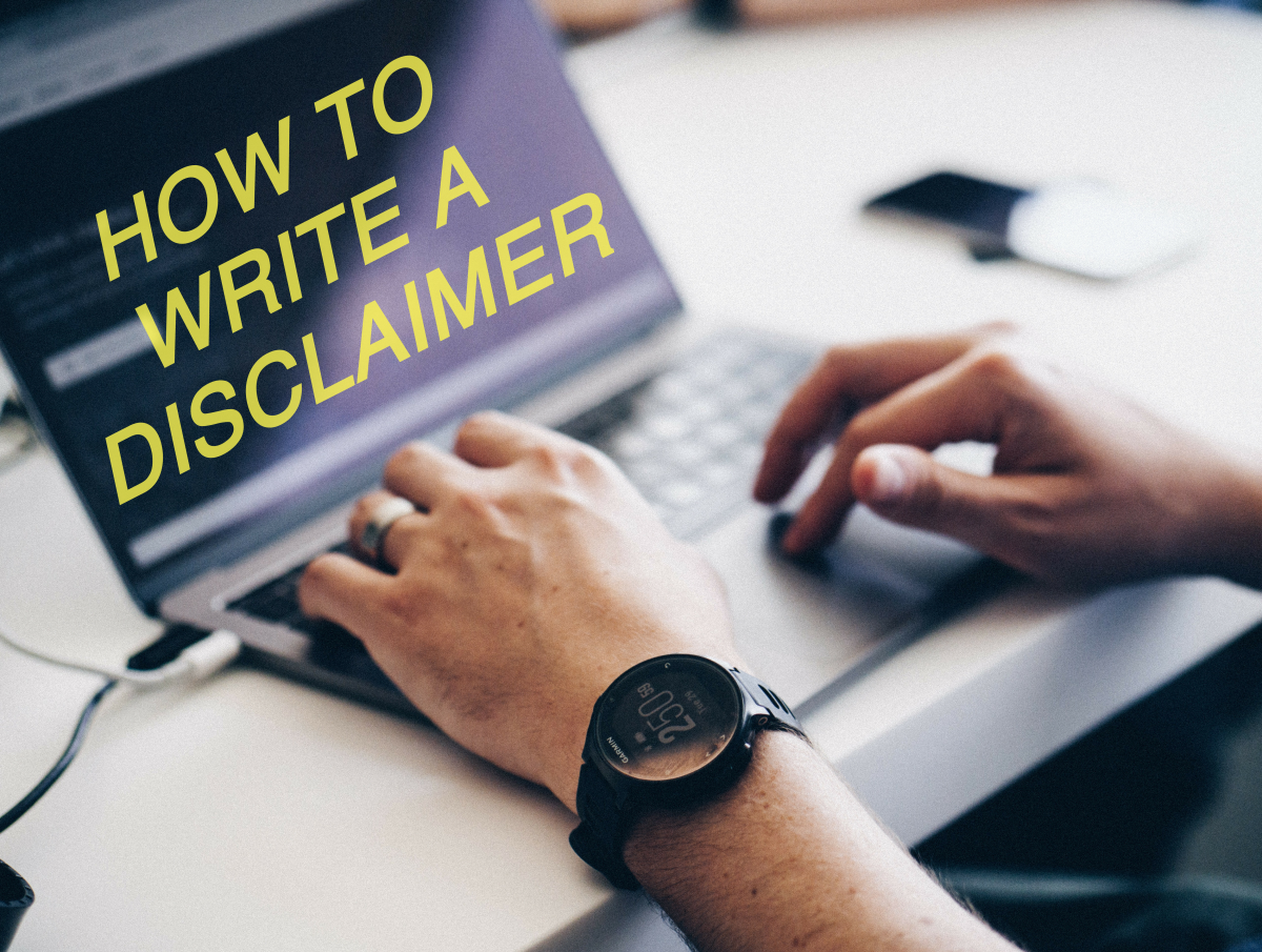How to Write a Disclaimer for a Novel, Website, or Blog