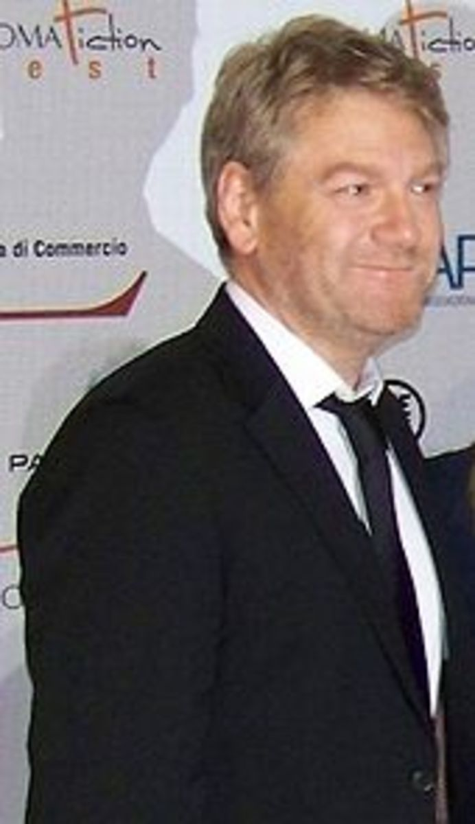 Kenneth Branagh -- best and Famous Irsih Actor