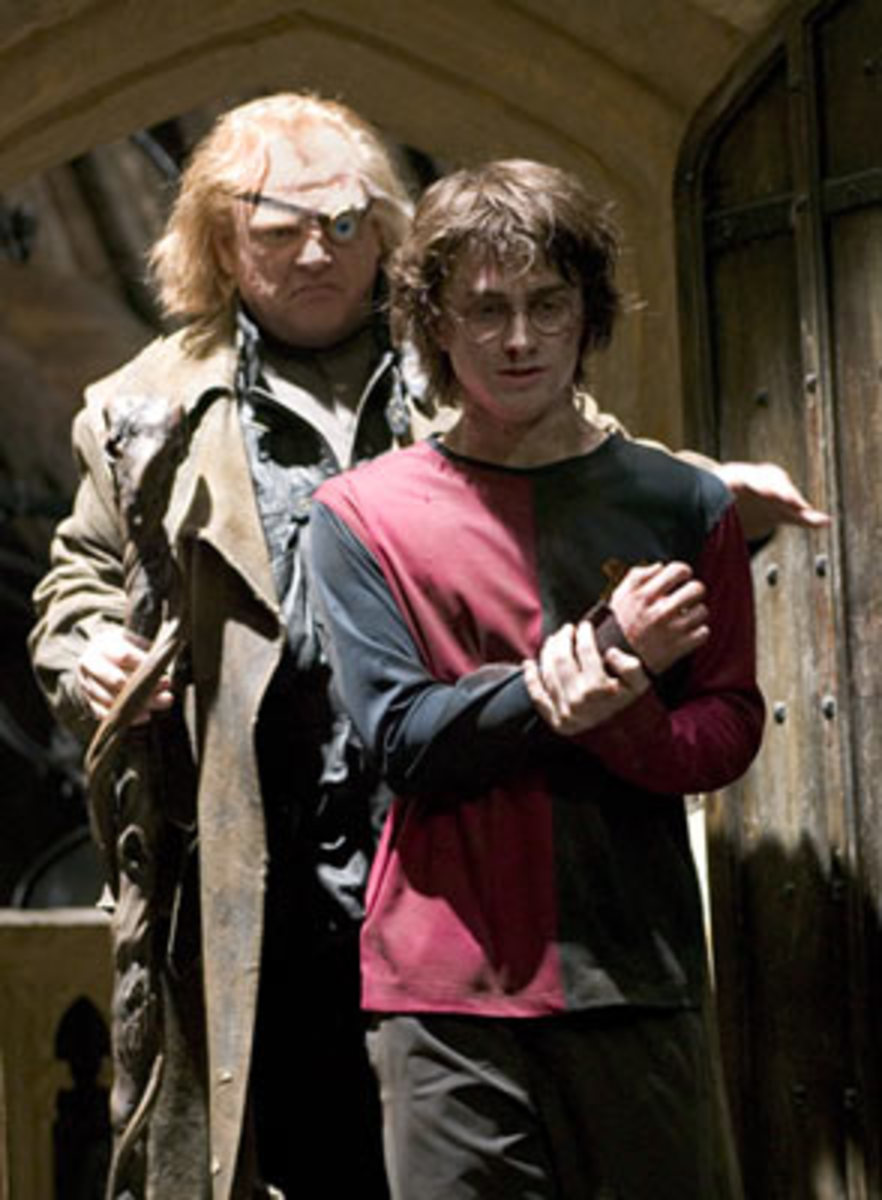 "Brendan Gleeson in ""Harry Potter"""
