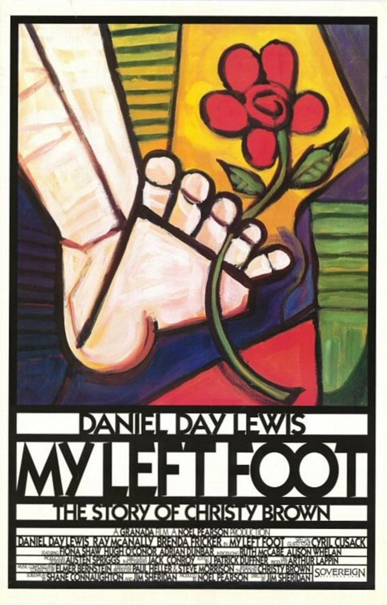 "Brenda Fricker co starred in Daniel Day Lewis in ""My Left Foot"" the movie"