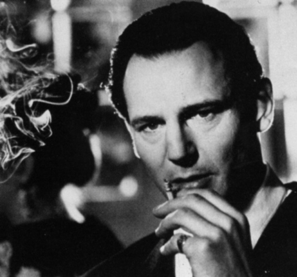 Liam Neeson in Schindlers List - Best and Famous Irish Actor