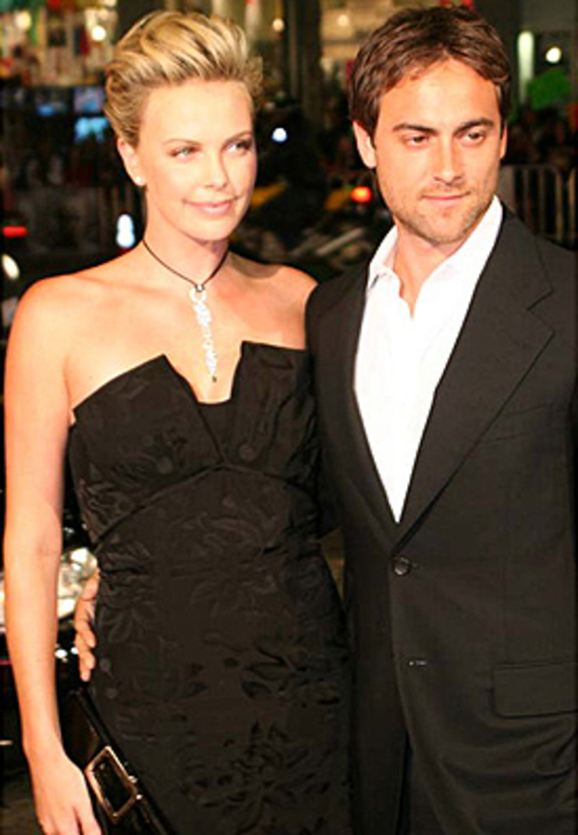 Stuart Townsend- an Irish best and famous actor with long time partner Charlize Theron