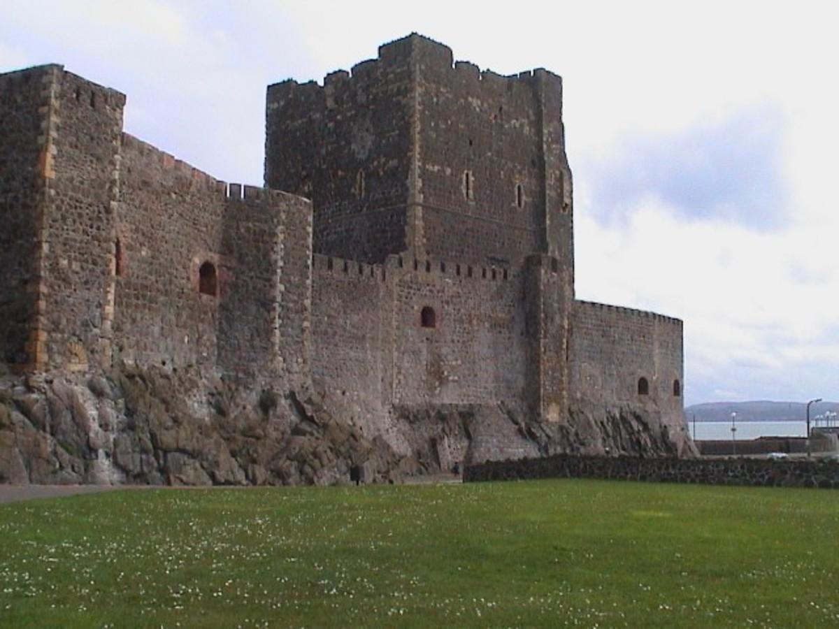 Carrickfergus Castle - photo credit: winniesphotoblog