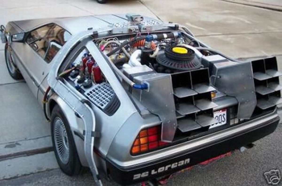 The DeLorean DMC-12 Time Machine