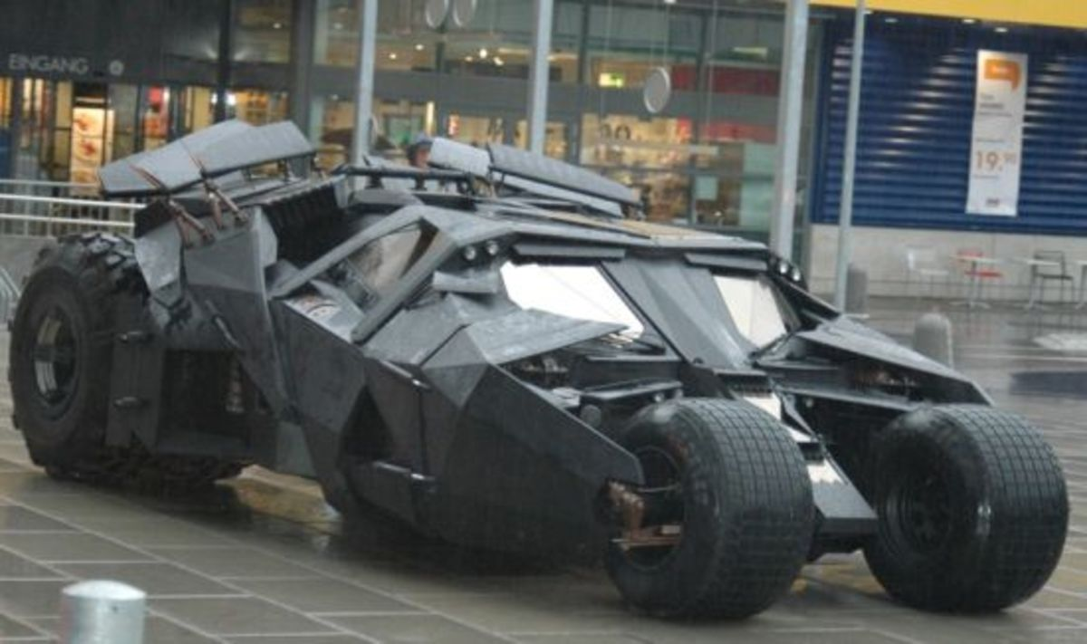 The Tumbler from Batman Begins and The Dark Knight