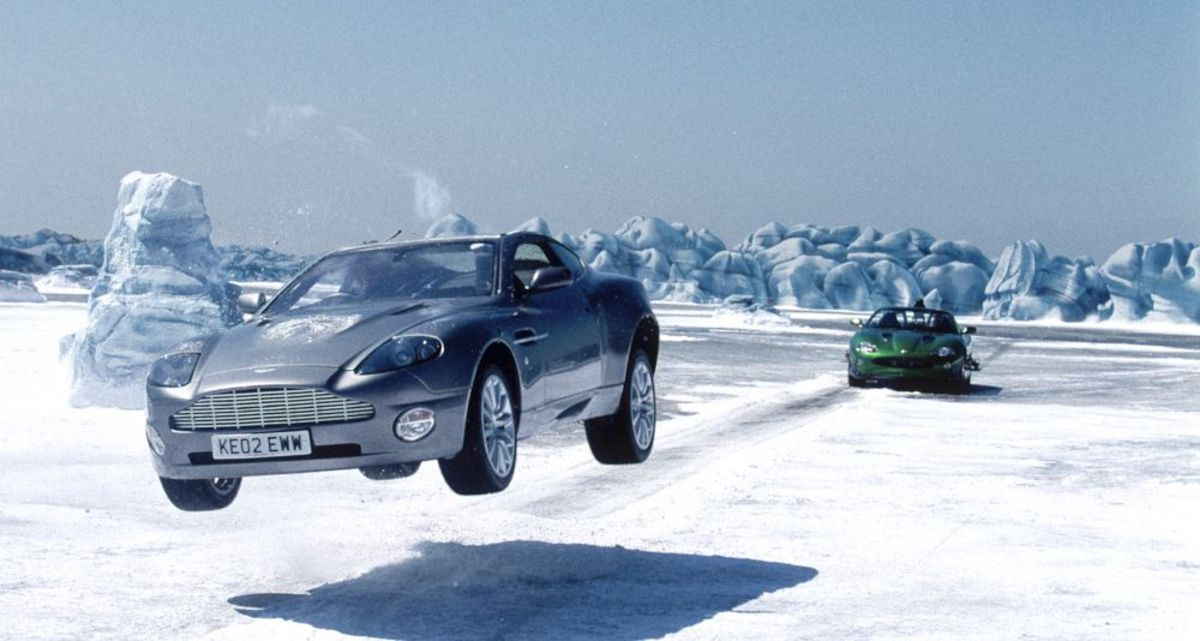 Aston Martin V12 Vanquish in Die Another Day
