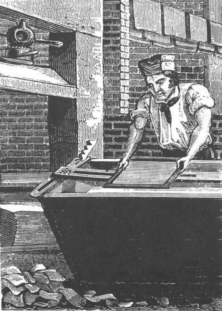 Medieval papermaking