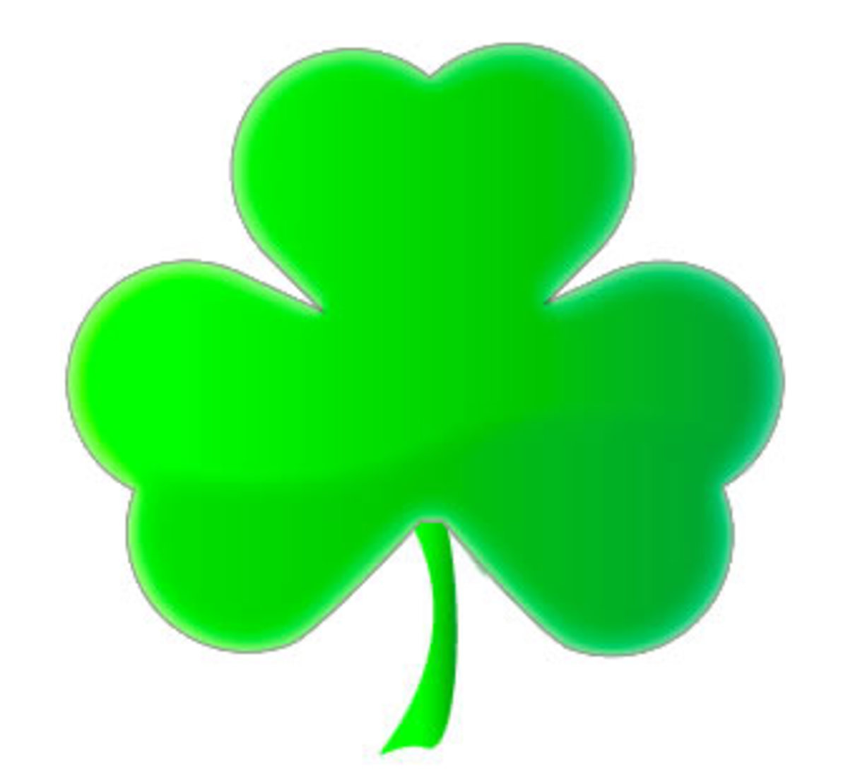 shamrock -- IRISH emblem