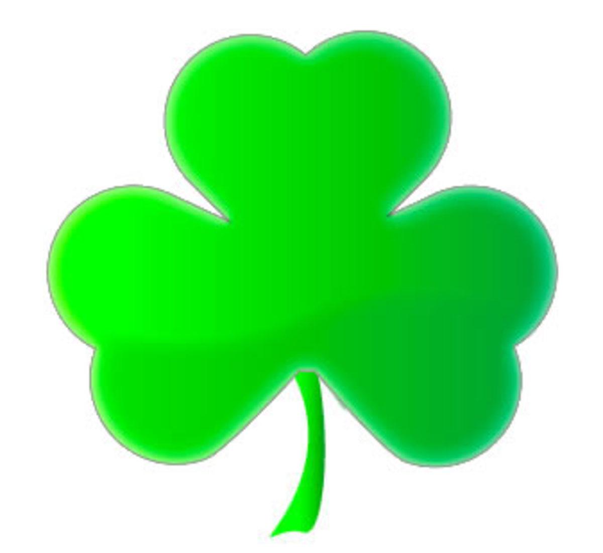 shamrock -- IRISH emblem