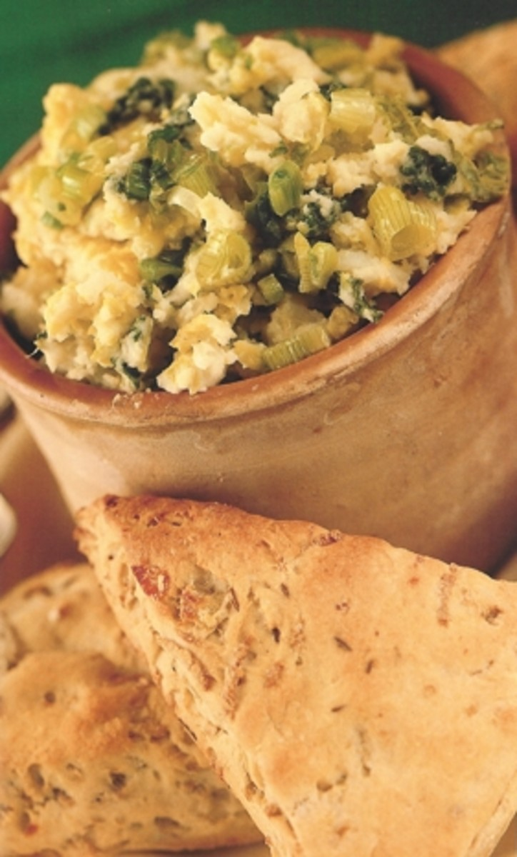 Colcannon (top) and Stampy (bottom) picture courtesy of http://www.europeancuisines.com/Pictures-of-Irish-Food