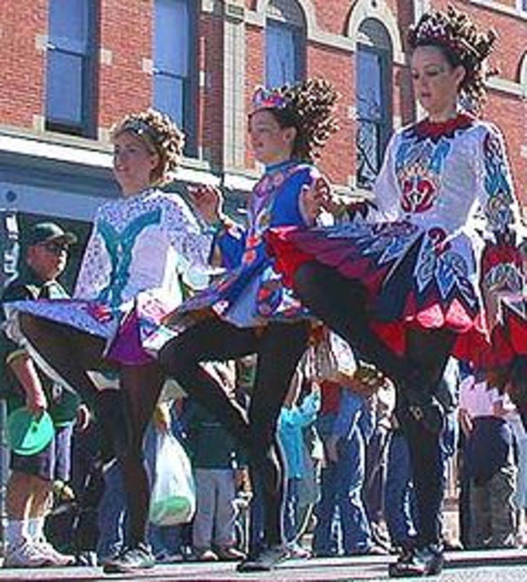 IRISH dancers courtesy of wikipedia -- St Patricks Day
