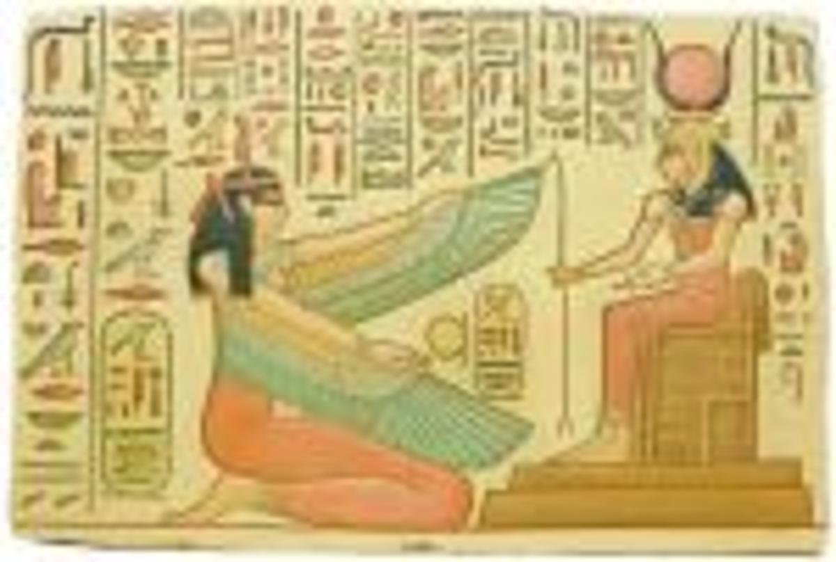 It was the need to pass on the spells required for the journey into the afterlife that made the Egyptians draw on the walls.
