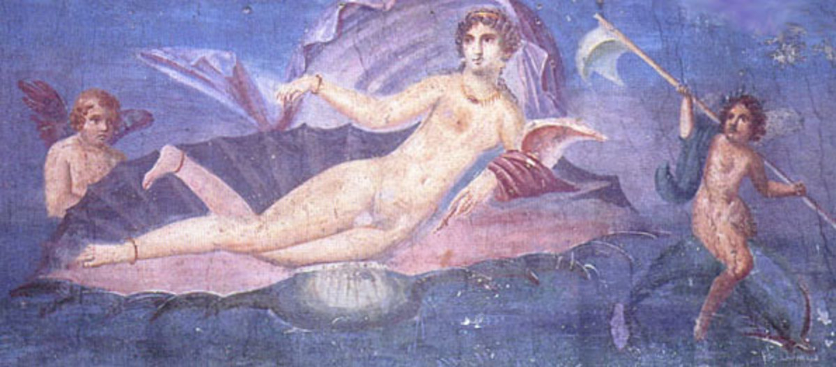 The Goddess Venus, from a mosaic
