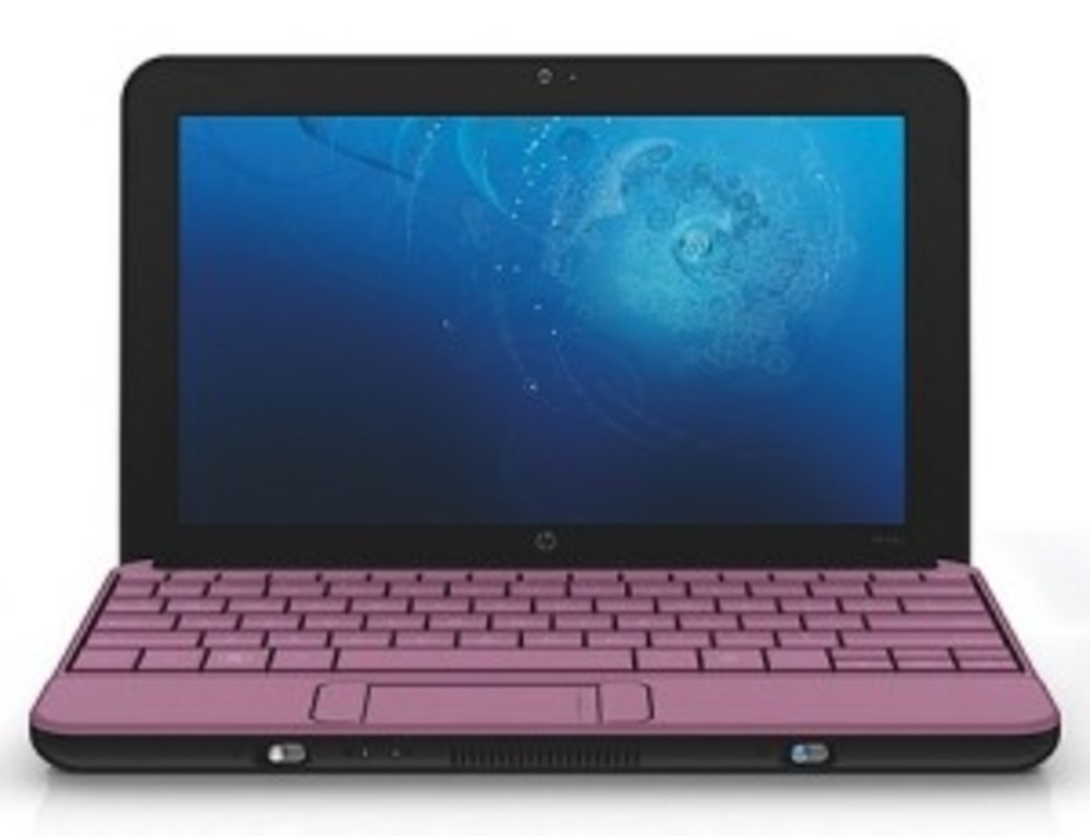 HP Pink Laptops