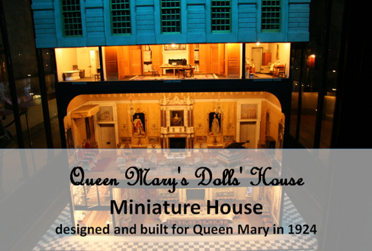 Miniatures: House, Furniture, and Other Handcrafted Miniature Collectibles