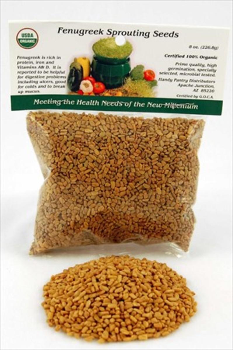 Buy a pack of fenugreek seeds online