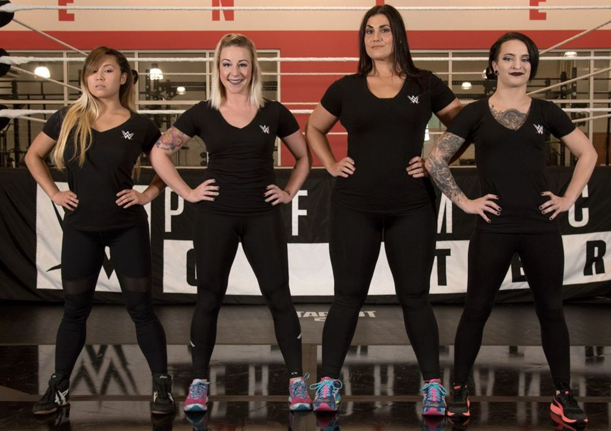 New WWE Performance Center Recruits