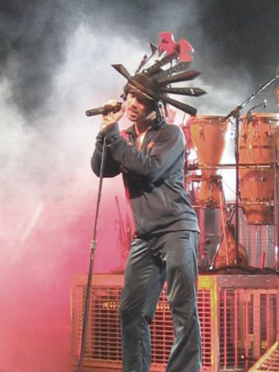 Jay kay of Jamiroquai. Photo by Richoz