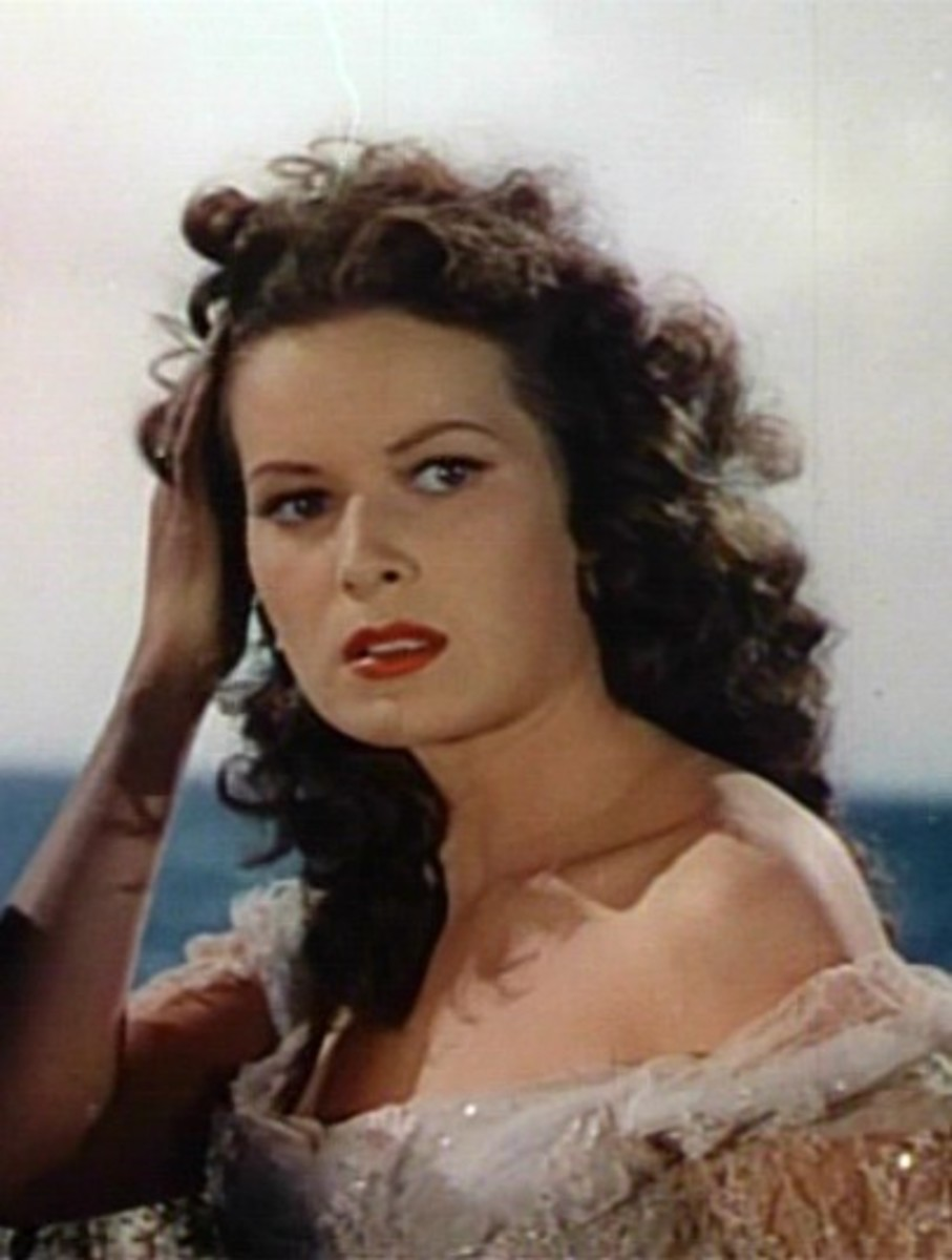 In the film the Black Swan in 1942