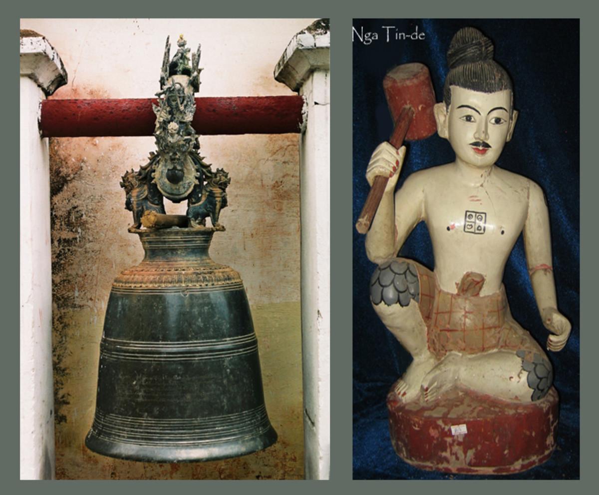 Temple Bell and Nga Tin-de