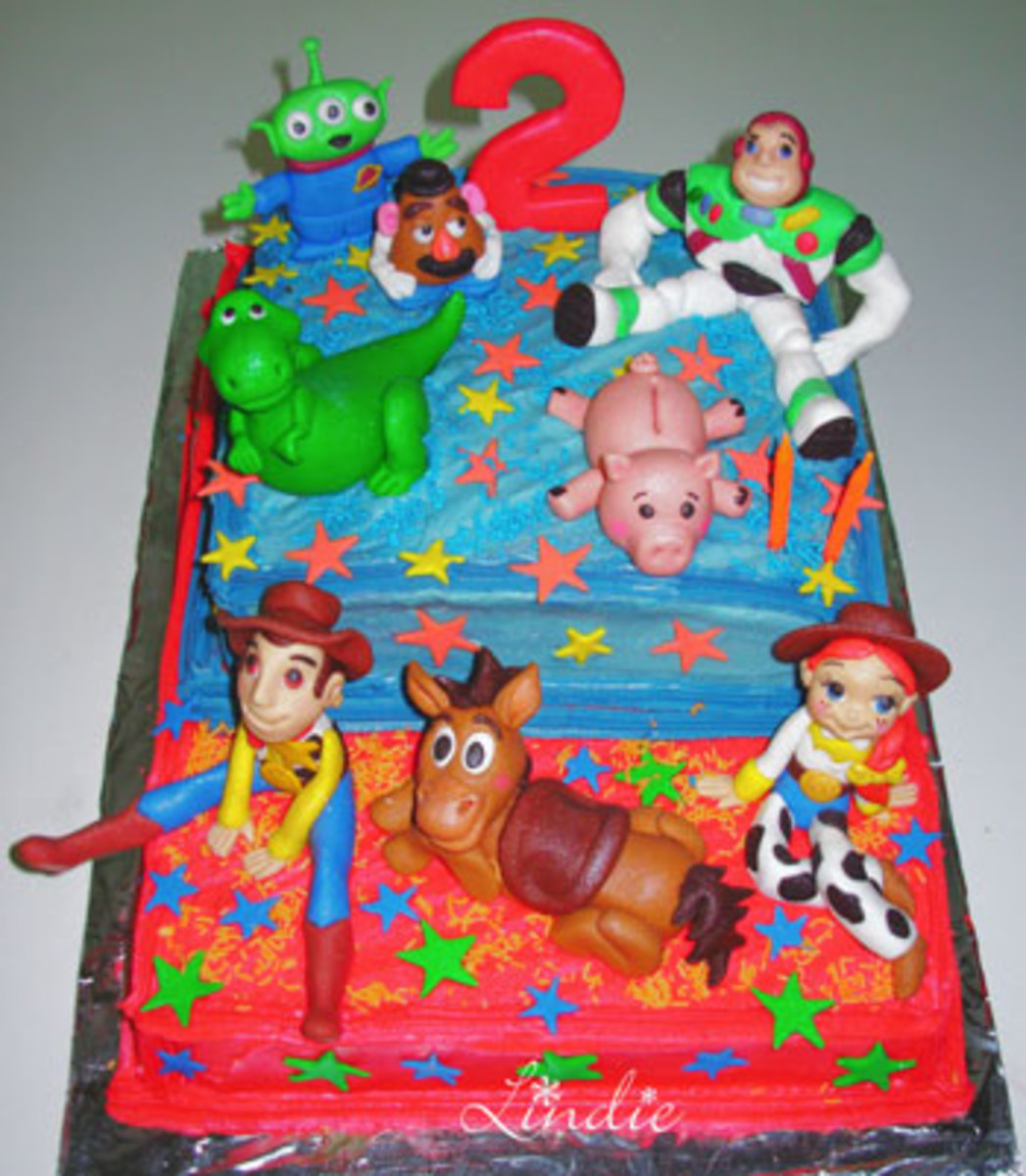 Toy Story Birthday Cakes, Cupcakes & Cookies