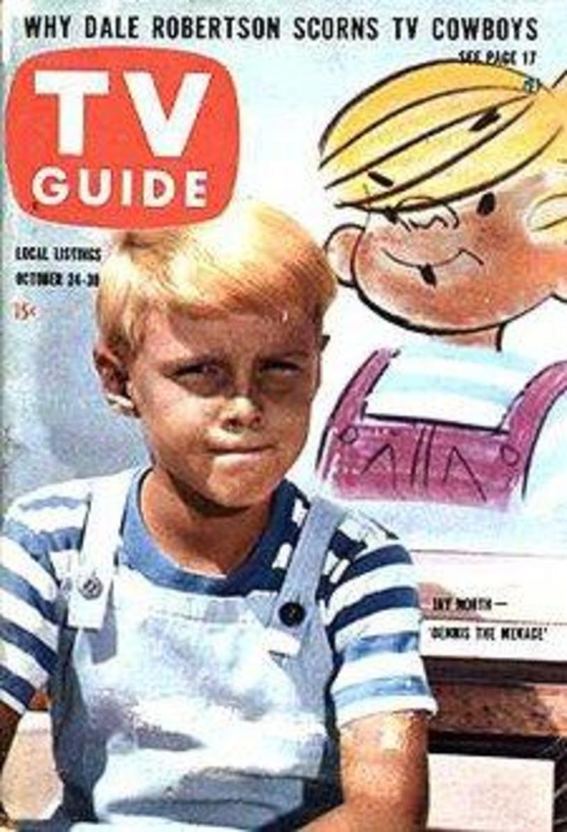 Jay North on the cover of TV Guide