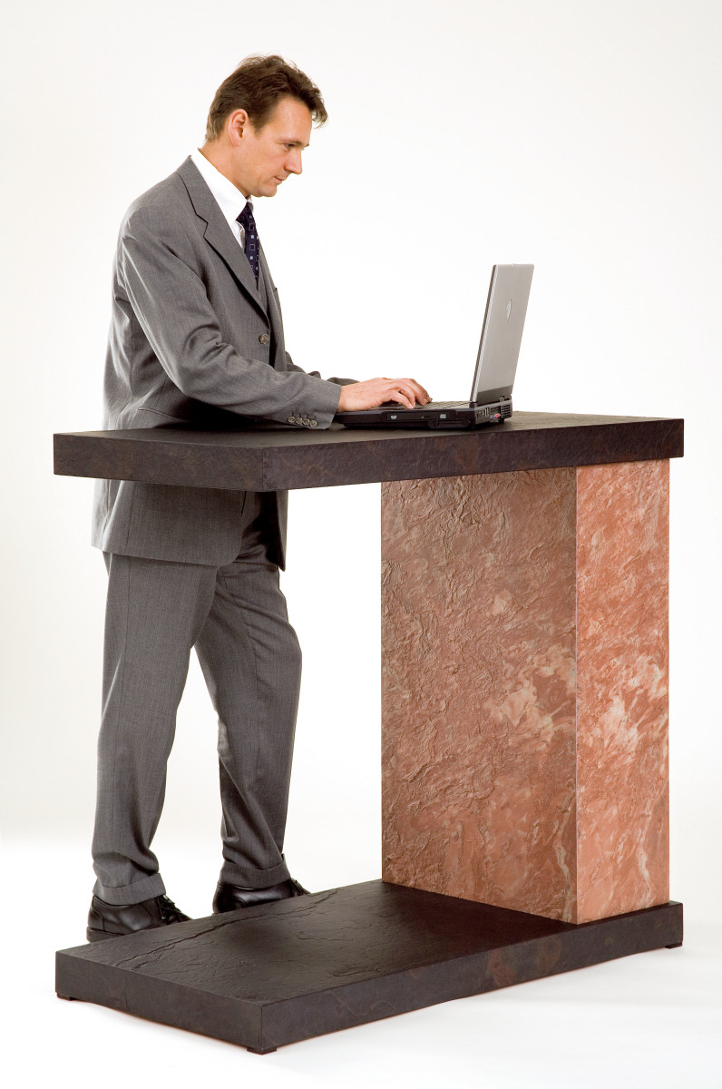 Stone Standing Desk
