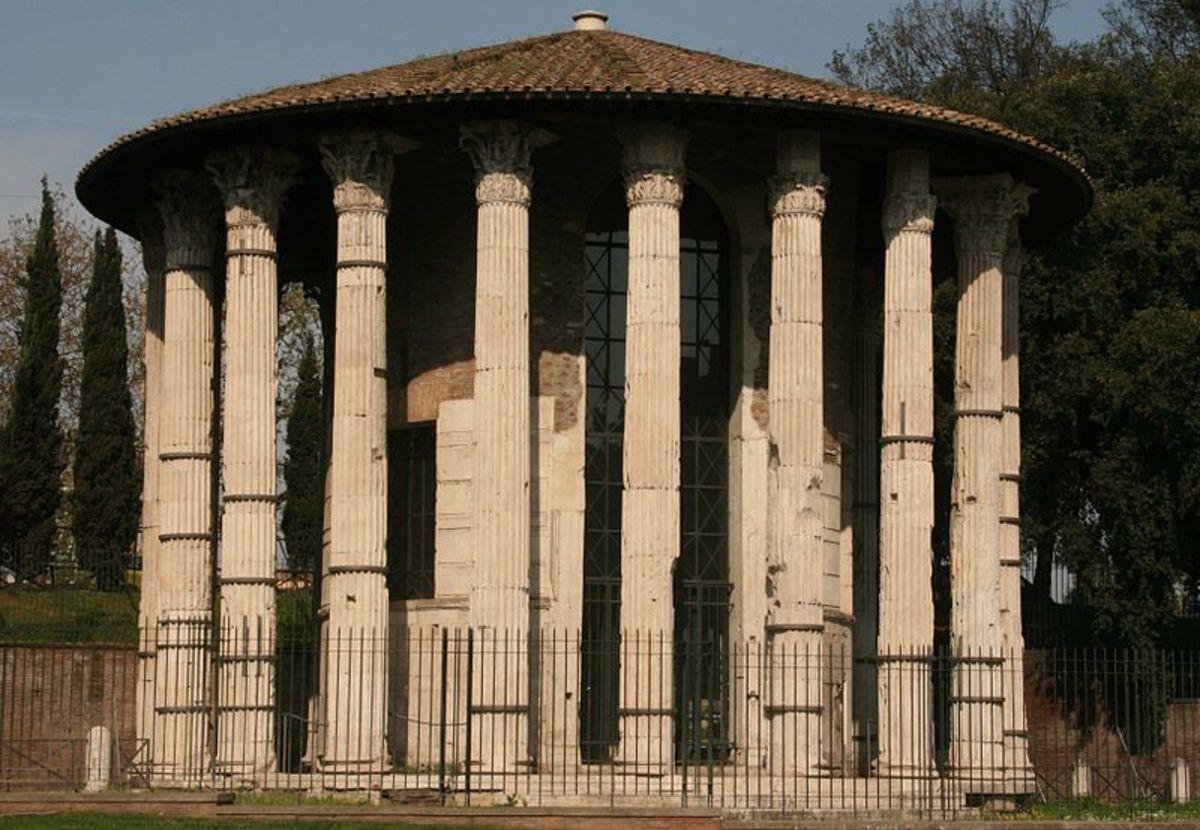 Temple of Vesta at Rome