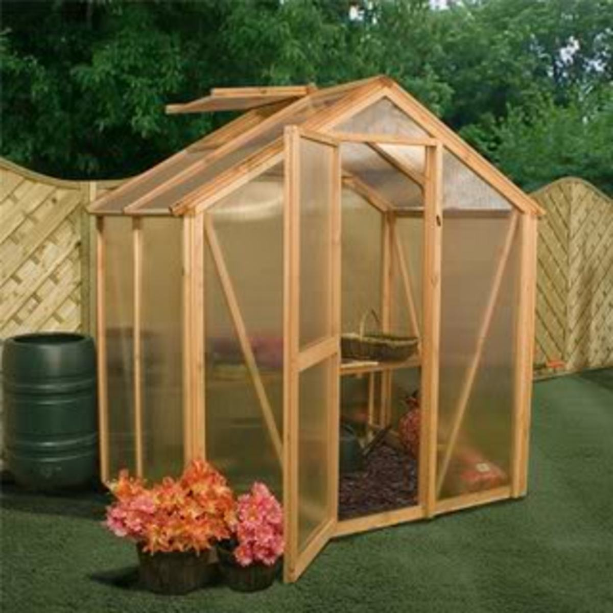 Build a Victorian Greenhouse
