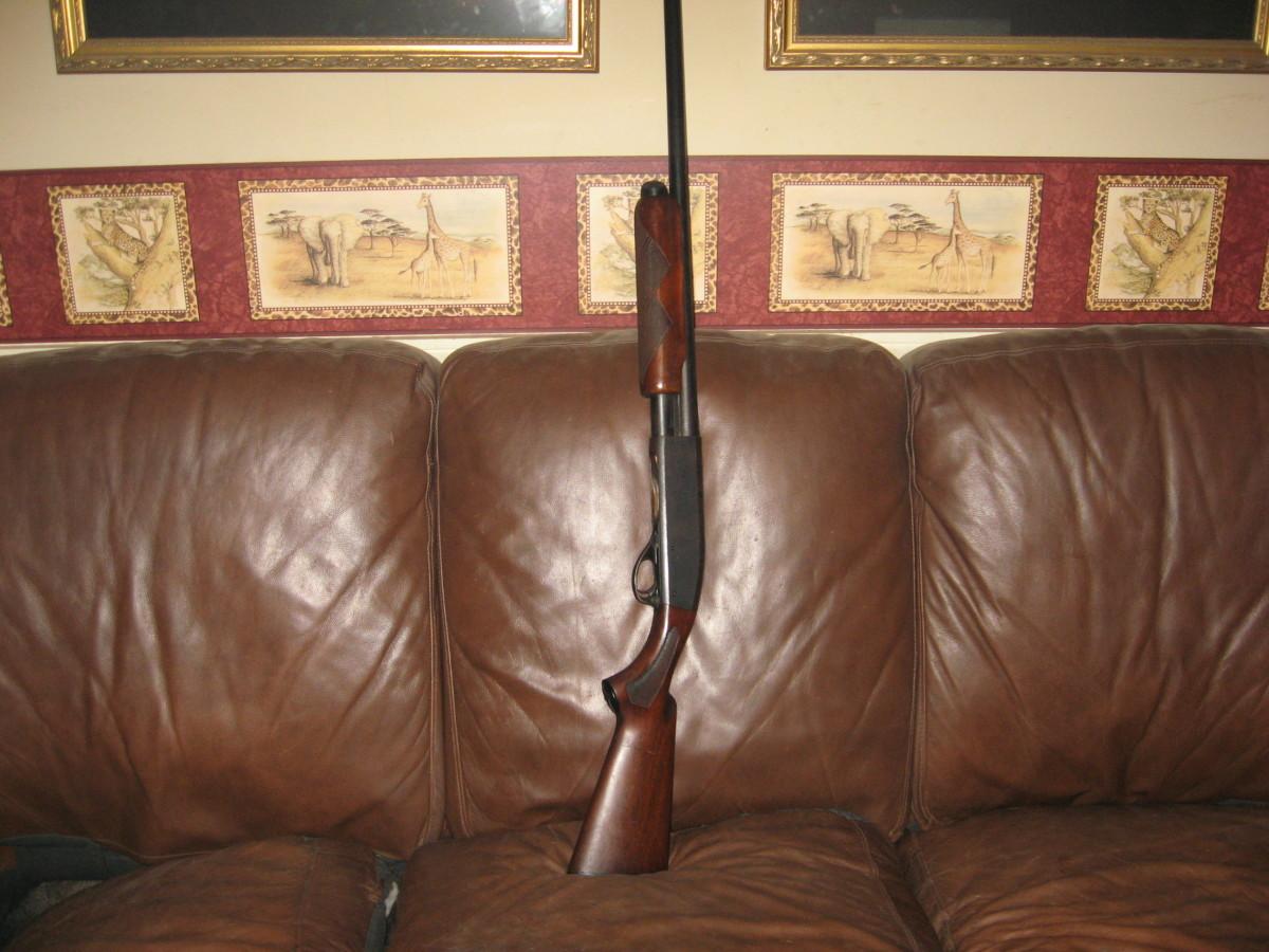Home Defense Shotguns - works for me.