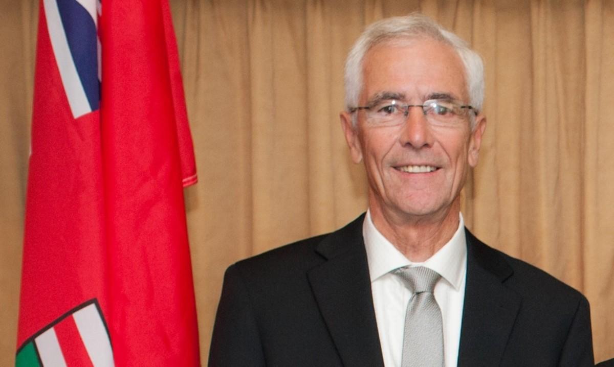 Kirkland Lake Mayor Tony Antoniazzi
