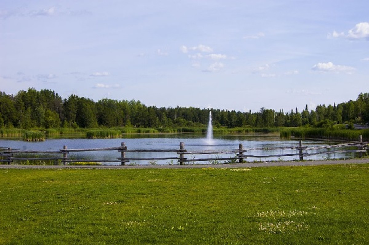 Kirkland Lake's Kinross Pond