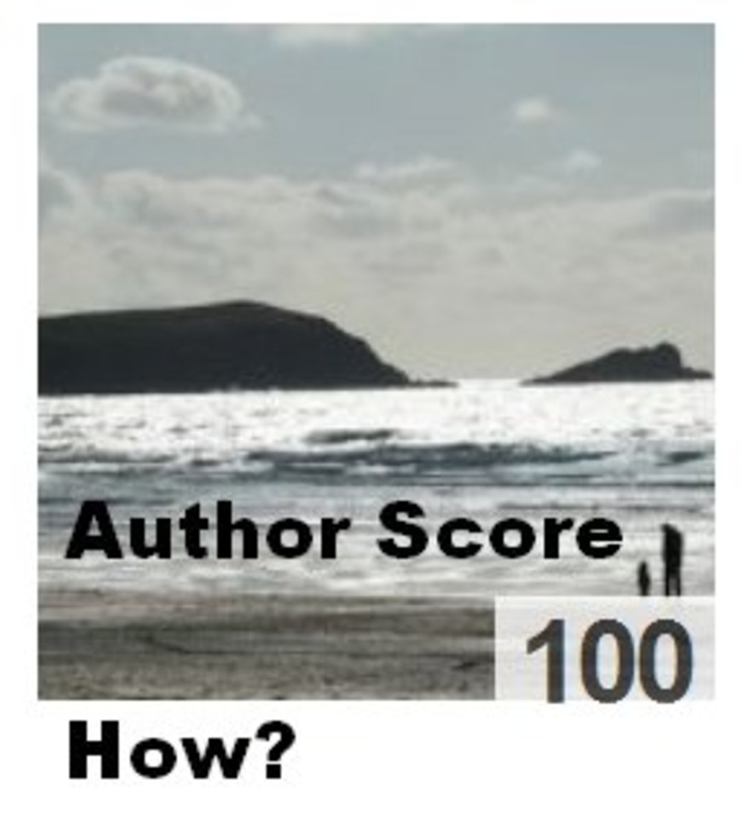 How To Increase Your Hub Author Score to 100 on Hubpages