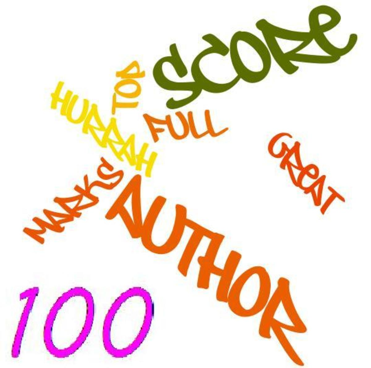 Author Score of 100