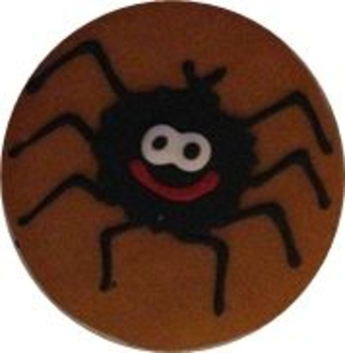 Spider cooky