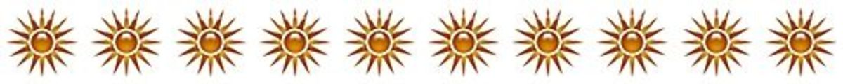 Summer Sun ClipArt Border Free