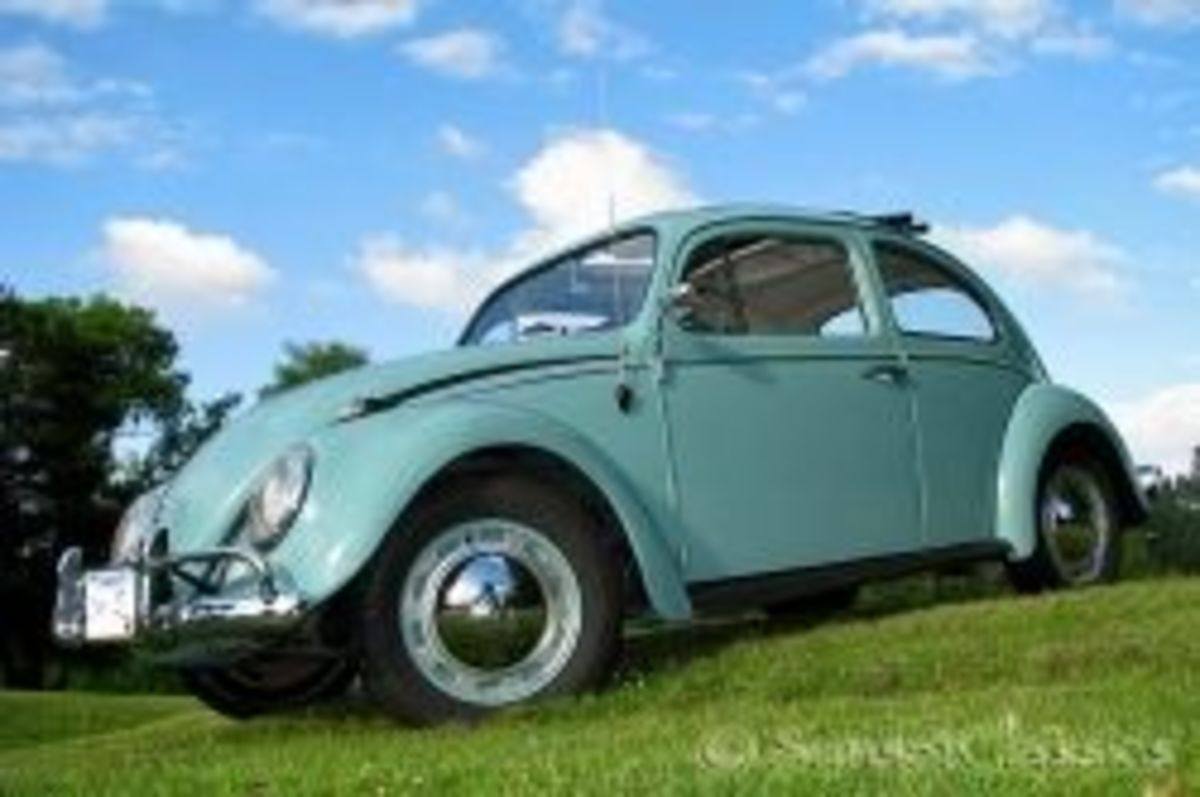 1962 VW Ragtop Beetle for Sale