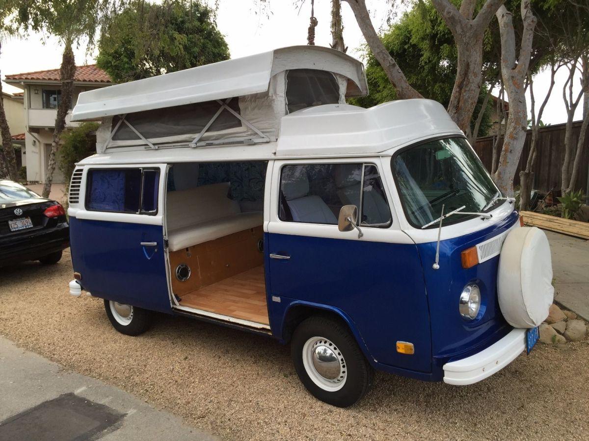 1974 Volkswagen Pop-Top Camper