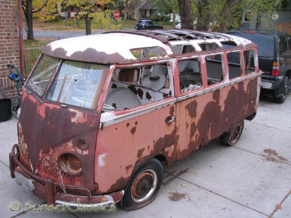 1962 23 window VW bus for sale in Minneapolis, MN.