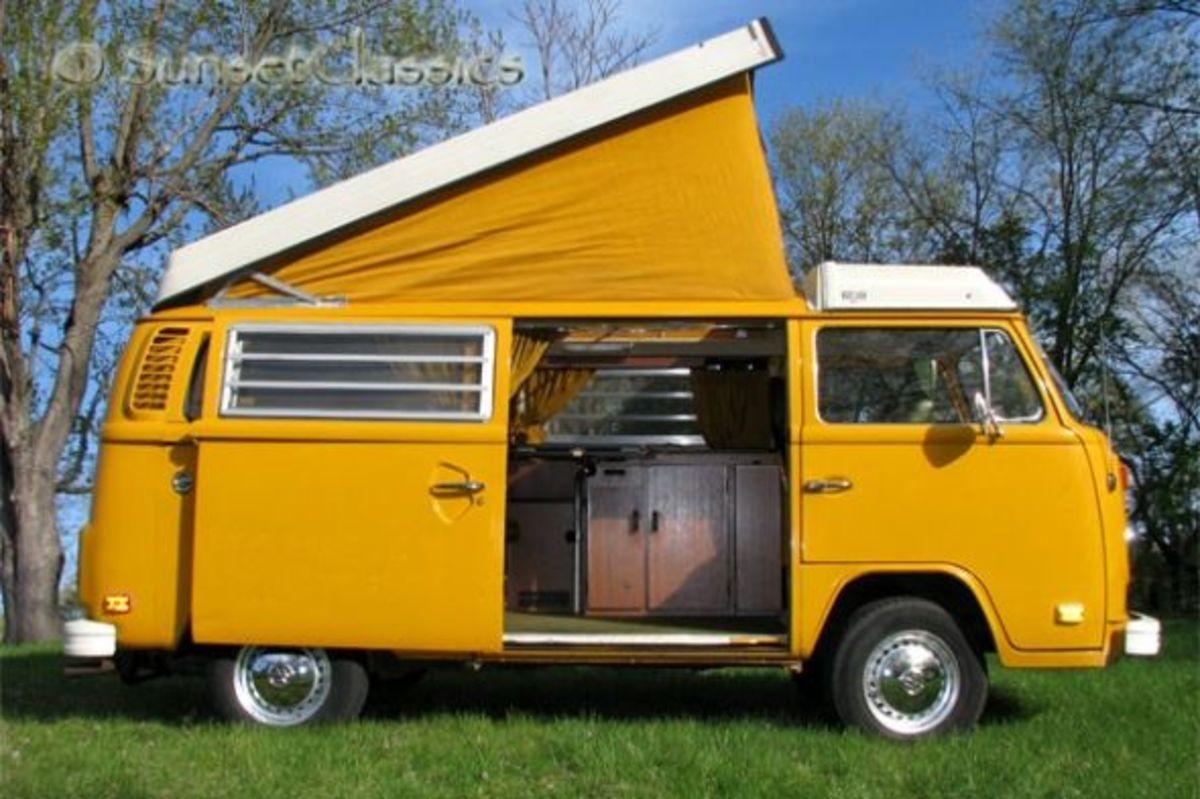 1976 VW Westfalia Camper Ready for Summer