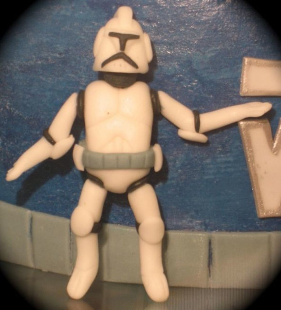 Storm Trooper Cake Topper Figure