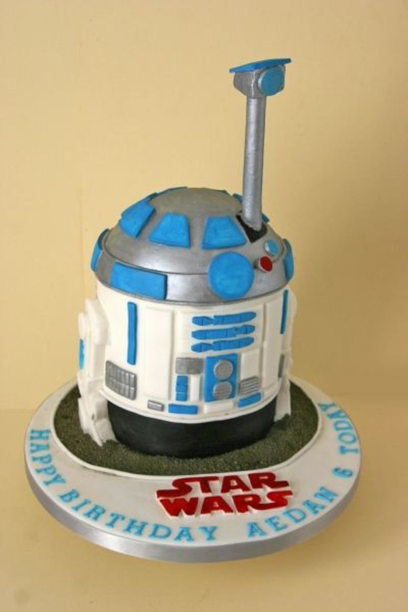 Amazing R2-D2 Droid Cake!